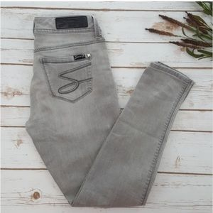 🎁 FREE T-SHIRT WITH PURCHASE Seven7 | Grey Jeans